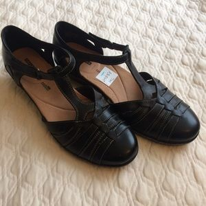f854057bd87 Clarks Shoes - New Clarks Wendy Alto T Strap Fisherman Sandal 10